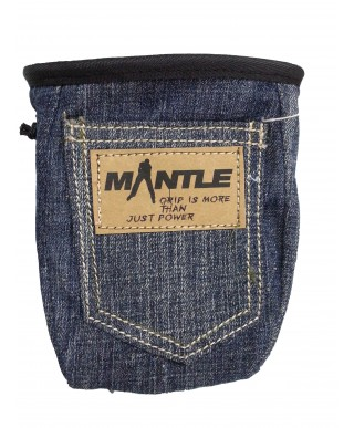 MANTLE - Sac à magnésie Denim Jeans